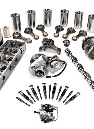 Parts at Blanchard Equipment